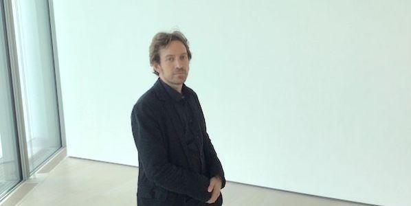 El periodista y escritor Daniel Gascón. Foto: Antón Castro.