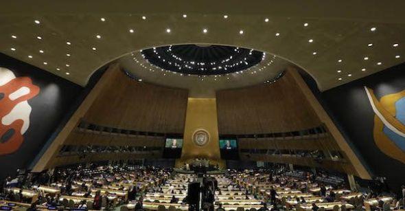 La Asamblea General de la ONU.