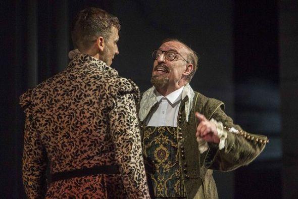 Una escena de 'El burlador de Sevilla' interpretada por la Compañía Nacional de Teatro Clásico.