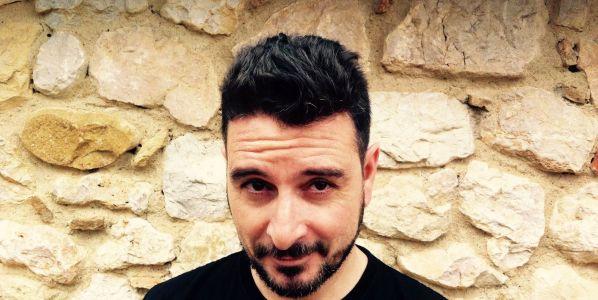 El escritor Kiko Amat. Foto: Eugènia Broggi.