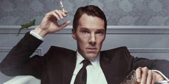 El actor Benedict Cumberbatch caracterizado como Patrick Melrose.