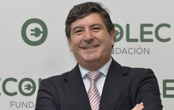 El director general de la Fundación ECOLEC Luis Moreno Jordana