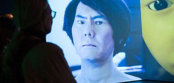 La copia robótica hiperrealista de Hiroshi Ishiguro.