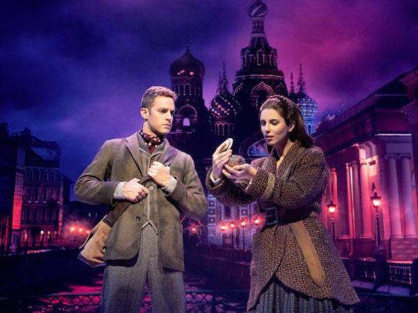 Los protagonistas de 'Anastasia' en un momento del musical. Foto: Javier Naval.
