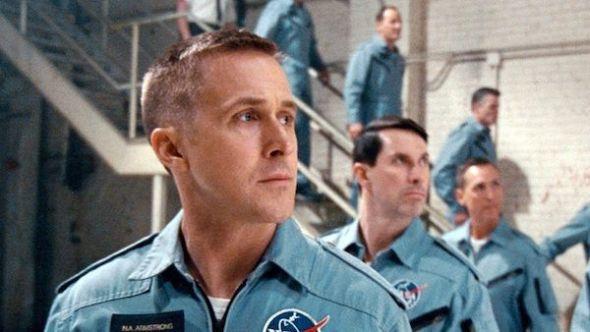 El actor Ryan Goslin como Neil Armstrong en la película 'El primer hombre'.