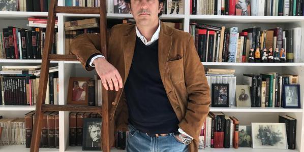 El escritor Rafael García Maldonado.