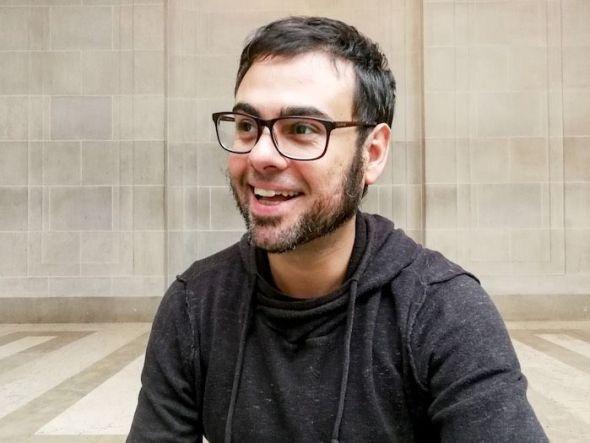 El escritor y periodista Sergio C. Fanjul. Foto: Liliana Peligro.