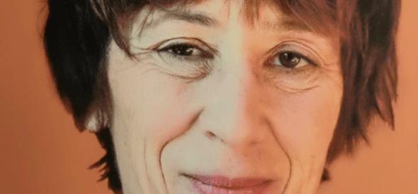 La escritora Caroline Lamarche.