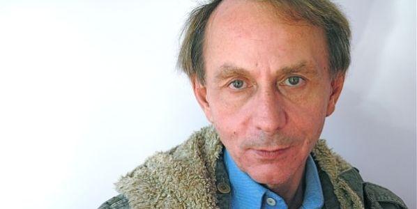 El escritor Michel Houellebecq. Foto: Stefán Bianka.