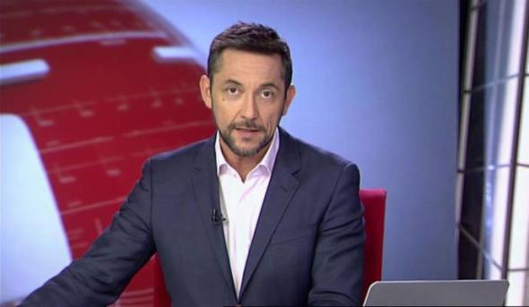 Javier Ruiz, uno de los rostros de los recientemente suprimidos informativos de Cuatro, cadena de Mediaset.