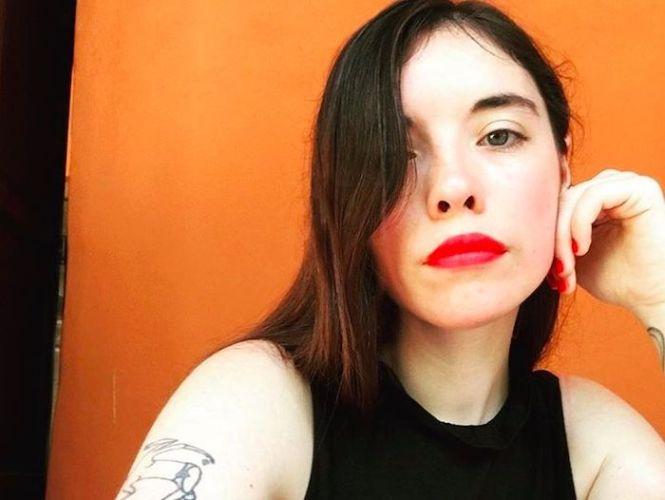 La escritora Luna Miguel.