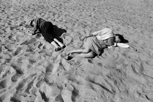 Santa Monica 14, 1970. Black Dog Collection, donación prometida al San Francisco Museum of Modern Art. © Anthony Hernandez