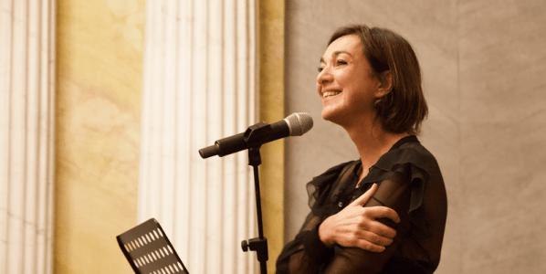La escritora Daria Bignardi.