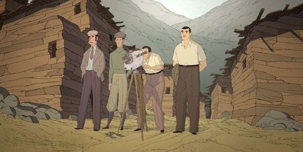 Un fotograma de la película 'Buñuel en el laberinto de las tortugas'.