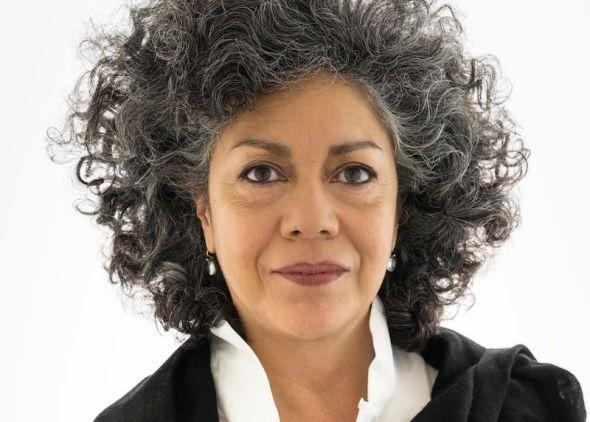 La escultora Doris Salcedo. Foto: The Solomon R. Guggenheim Museum.