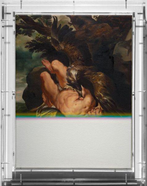 Mat Collishaw. 'Expiration Painting Talons'. Imagen cortesía del artista y BlainSouthern.