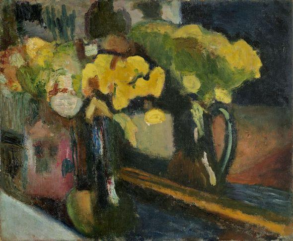 Henri Matisse. 'Las flores amarillas'. Museo Nacional Thyssen-Bornemisza.