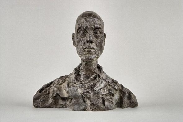 Cabeza de hombre (Lotar I) c.a. 1964- 1965 Bronce.