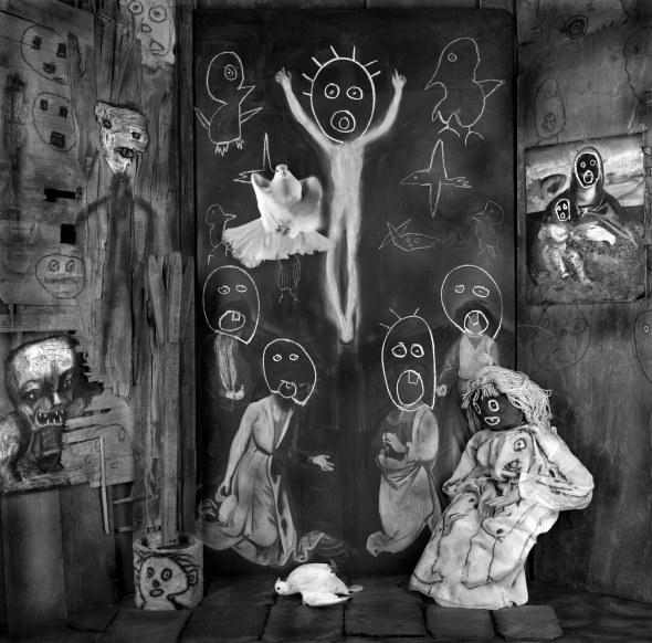 'The Ascension' © Roger Ballen.