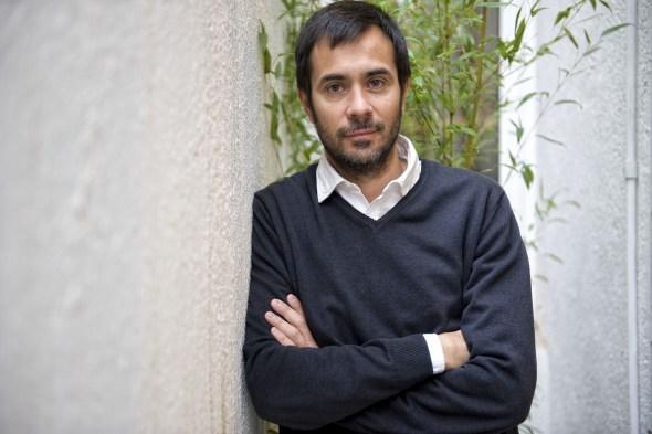 El editor Luis Solano. Foto: Santi Cogolludo.
