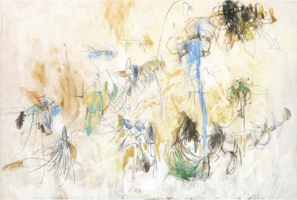 'The great parade', obra de Juan Varela en la galería Mad is Mad.