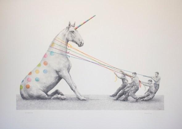 Toni Hamel. 'The Abduction'. Galerie Youn.