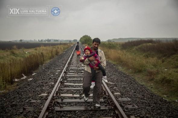 Supervivientes en busca de refugio. Foto de Olmo Calvo.