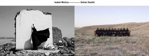 Fotografías de Isabel Muñoz y