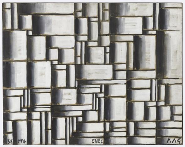 Joaquín Torres-García. Construcción en blanco y negro. 1938. The Museum of Modern Art, New York. Donación de Patricia Phelps de Cisneros en honor de David Rockefeller. © Sucesión Joaquín Torres-García, Montevideo 2016.