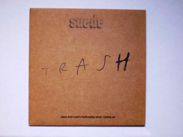 Portada del sencillo 'Trash' del grupo Suede.