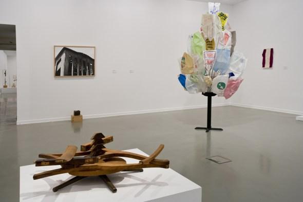 Obras escogidas de B. Wurtz en La Casa Encendida de Madrid.