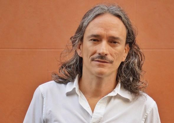 El músico Javier Álvarez en Madrid. Foto: Manuel Cuéllar.