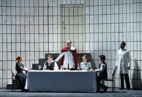 Una escena de la ópera Lucio Silla de Mozart con la que el Teatro Real abre su nueva temporada. Foto: Javier del Real.