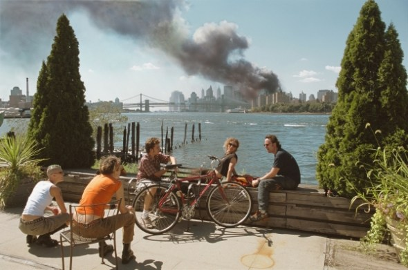 11-S. Nueva York. Septiembre 2001 © Thomas Hoepker / Magnum Photos