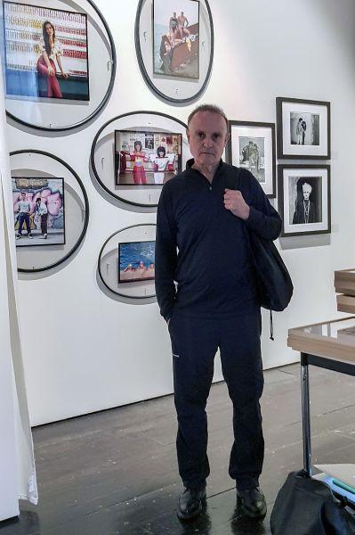 Miguel Trillo en el PhotoLondon 2017. Foto Sandra Mondón.