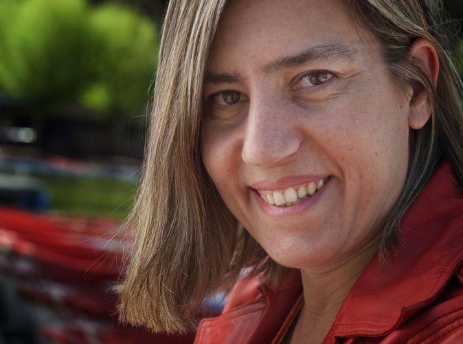La escritora Lea Vélez.