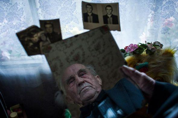 Trabajo de Raúl Moreno 'Monólogo sobre Chernóbyl'