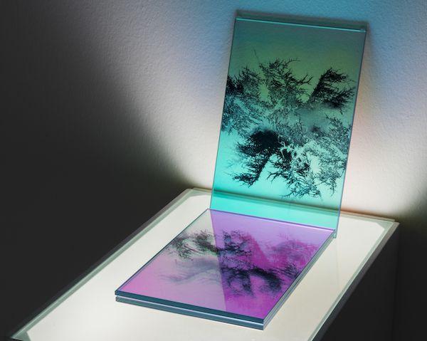 Una de las obras dentro de la muestra Working Glass.