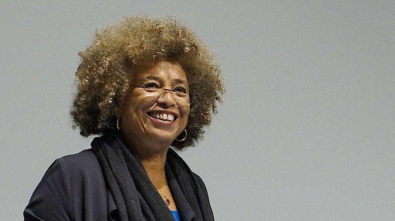 La activista Angela Davis.