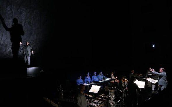 Plano general de una representación de Only The Sound Remains. Foto: J.D.R.