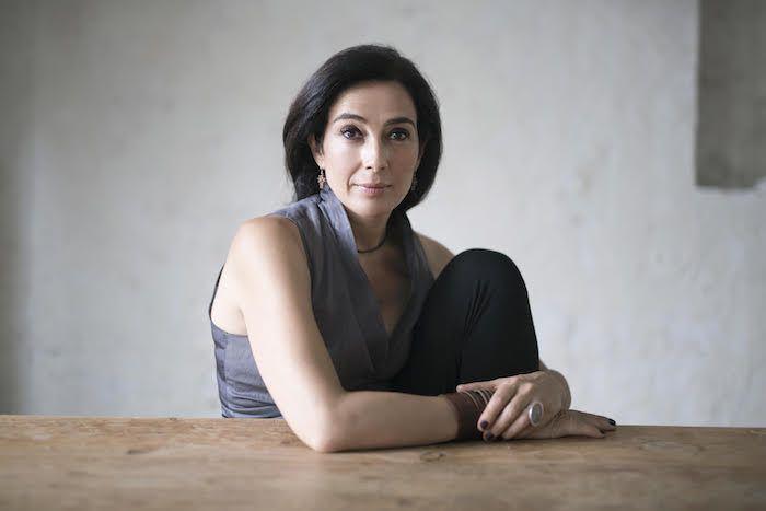 La escritora: Cristina López Barrio. Foto: Manuel Yllera.