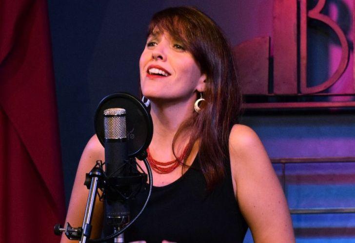 La cantante Ana Cuenca.