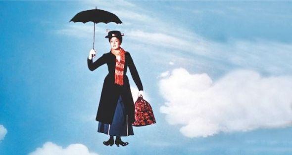 Un fotograma de la película Mary Poppins.