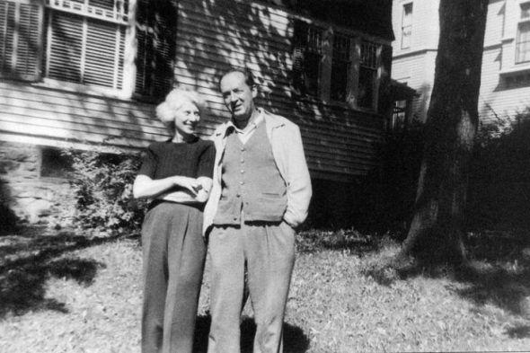 Vera Slónim y Vladimir Nabókov.