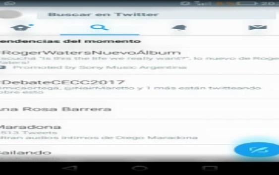 #DebateCECC2017 fue Trending Topic en Twitter