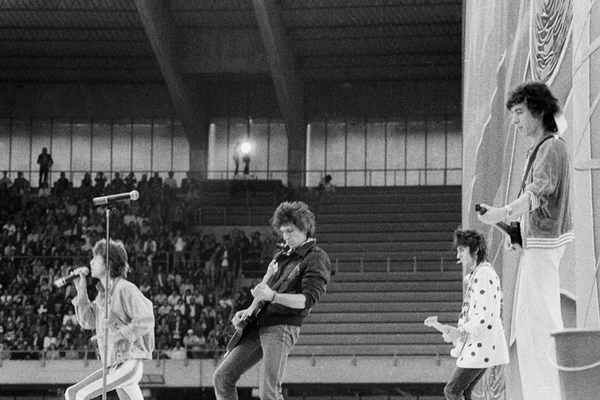 Ping Pong mit den Rolling Stones