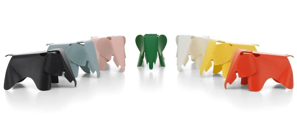 Surtido de colores Eames Elephant