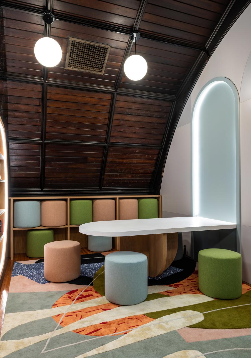 Biblioteca para niños Concourse House Bronx proyecto MCKA