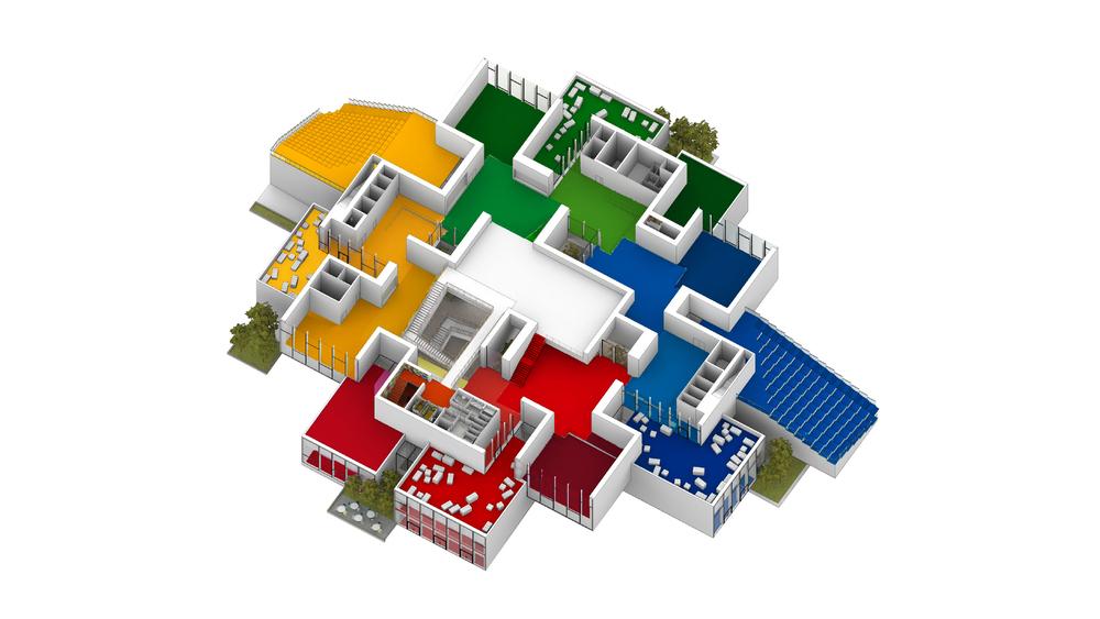 Lego House. Casa Lego proyecto BIG
