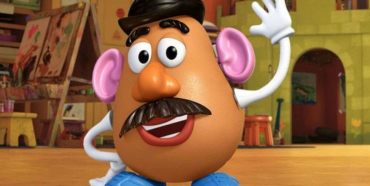 Top 10 diseño infantil. Mr Potato. Míster Potato. Señor Patata.